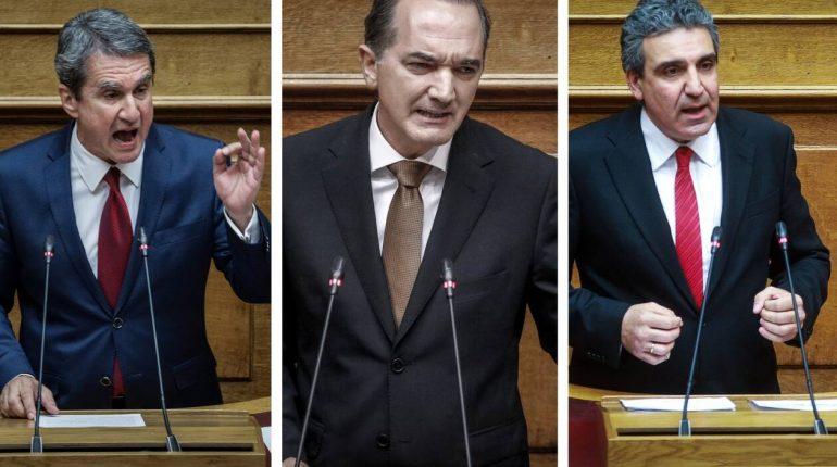 Με συντριπτική πλειοψηφία η Ολομέλεια της Βουλής αποφάσισε την άρση ασυλίας των τριών βουλευτών.