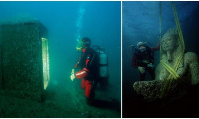 Ανακαλύφθηκε βυθισμένη πόλη που ένωνε την αρχαία Ελλάδα με την Αίγυπτο
